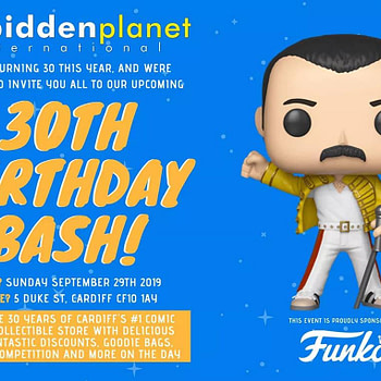Forbidden Planet Cardiff Celebrates Thirty Years