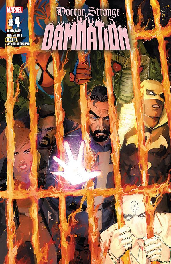 Doctor Strange: Damnation #4 cover by Rod Reis