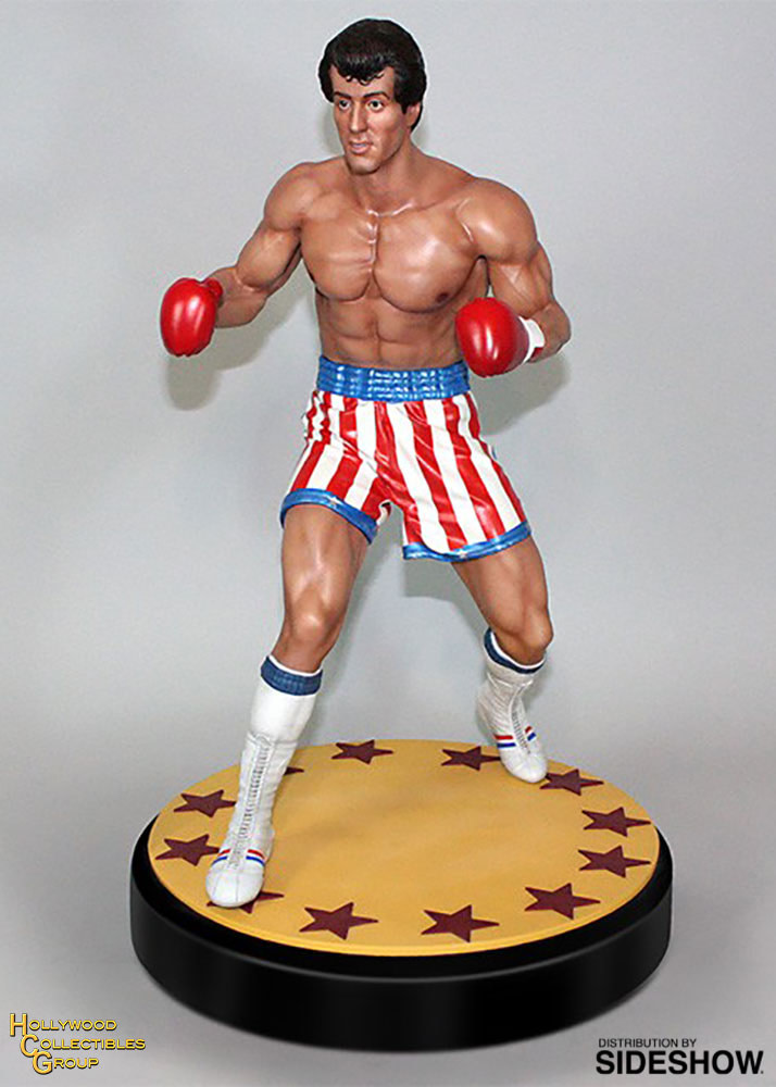 Rocky Stands His Ground in His New HCG 1:4 Statue