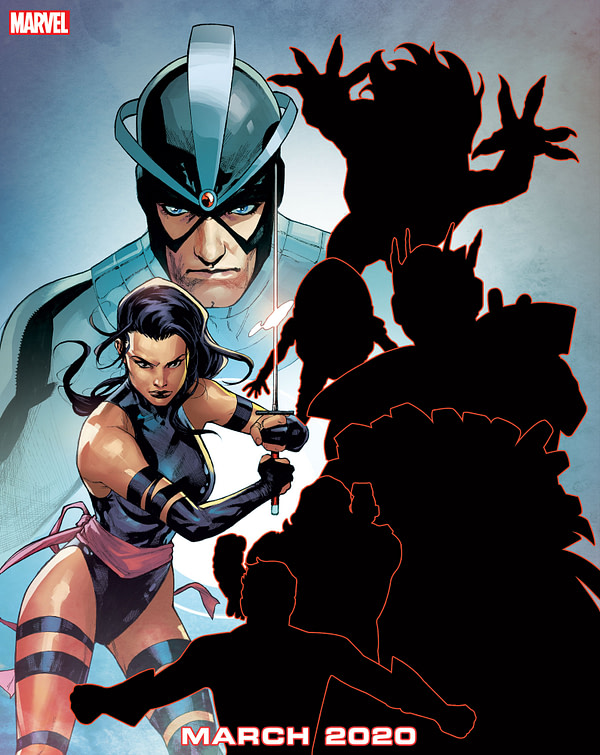 Psylocke and Havoc Join Another Dysfunctional X-Men Team in March