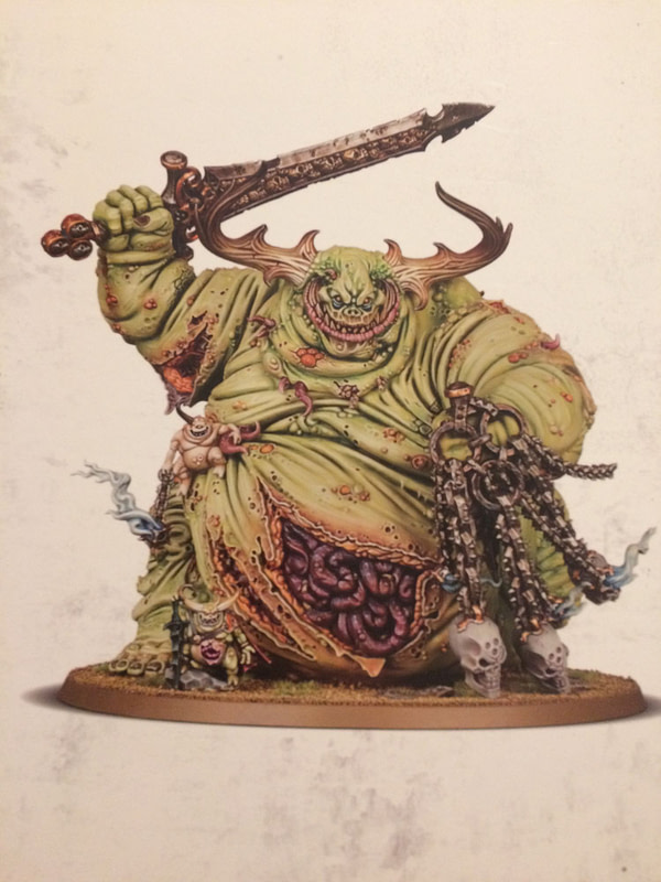 """Review: Games Workshop's """"Great Unclean One"""" - """"Warhammer: Age of Sigmar"""""""