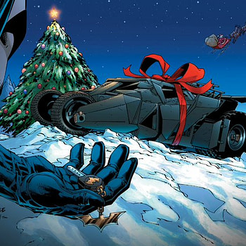 DC Holiday Graphic by Jim Lee Reveals Santa Claus is an Illegal Arms Dealer