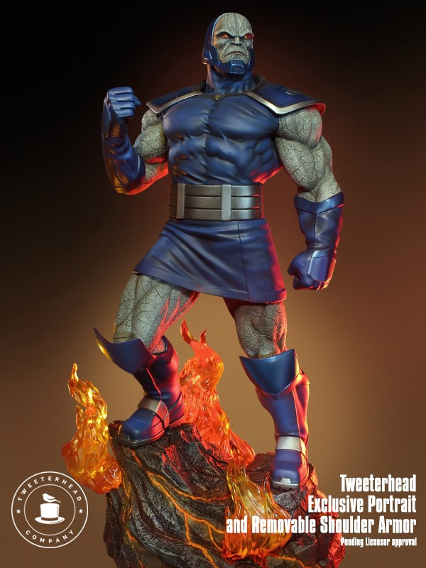 Darkseid Reigns Supreme with New Statue from Tweeterhead