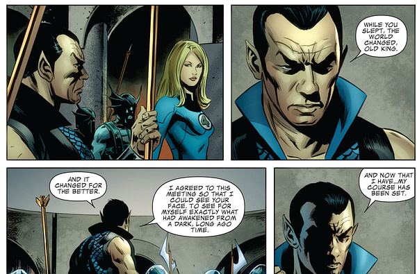 Is Today's Invaders - the First Marvel Tie-In With HOZPOZ?