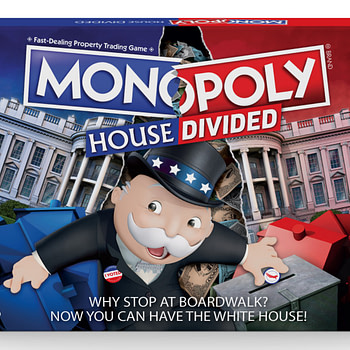 "Hasbro Kicks Up Political Discourse With ""Monopoly: House Divi"