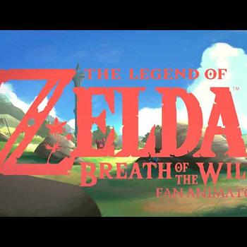 Fan animation of Zelda