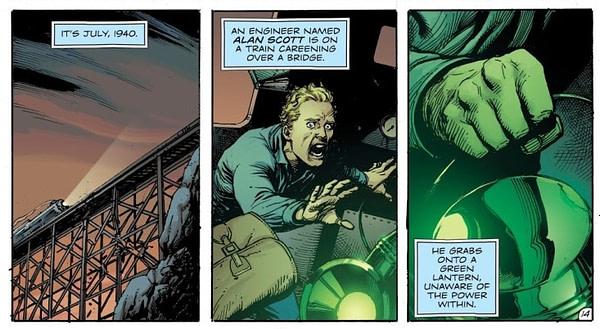 Alan Scott - Still a Gay Green Lantern in the 1940s?