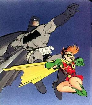 dark knight returns batman and robin