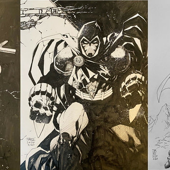 Jim Lee's DC Comics Sketches for BINC