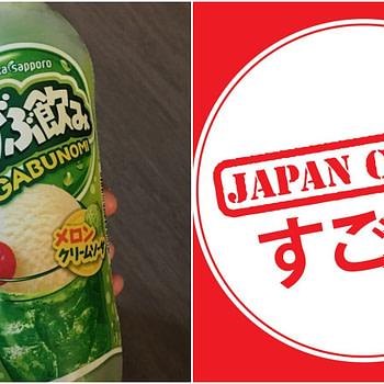 japan crate melon cream soda