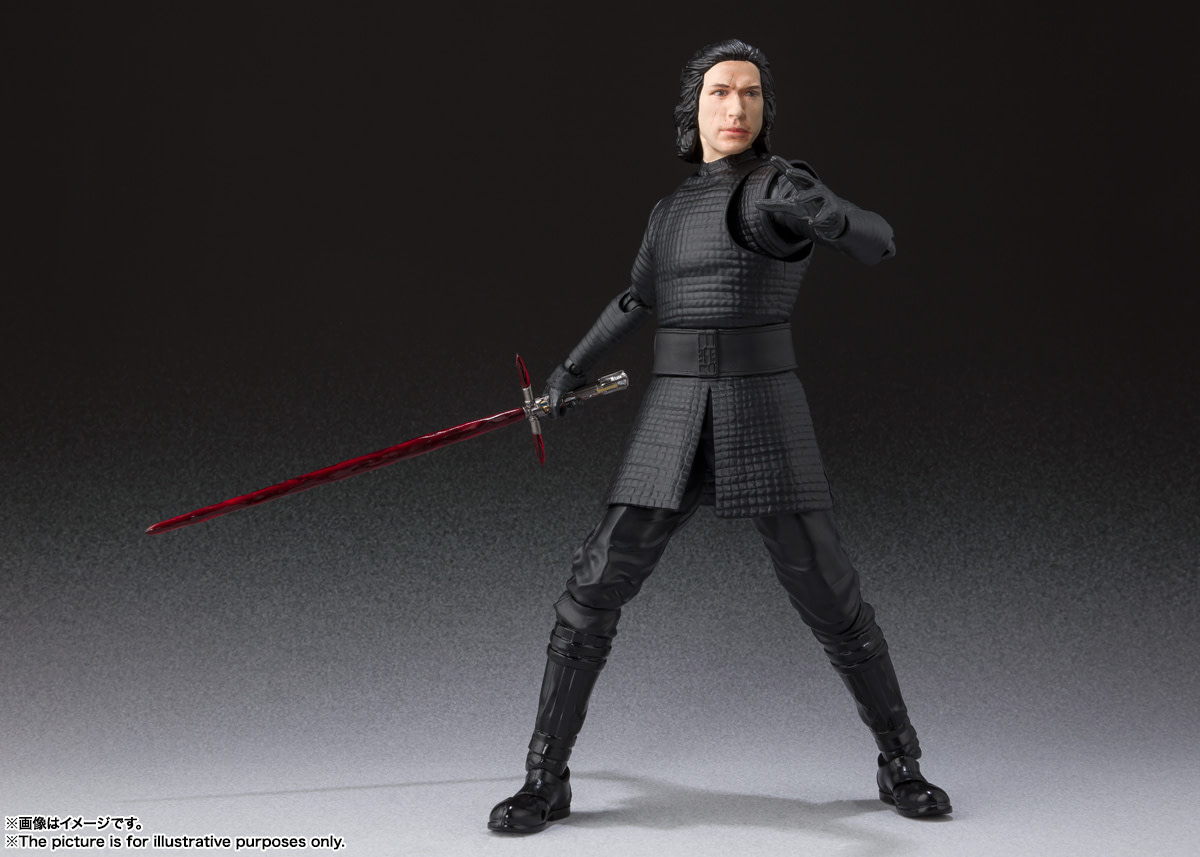 Kylo Ren, Rey and Sith Trooper Get New S.H Figuarts Figures