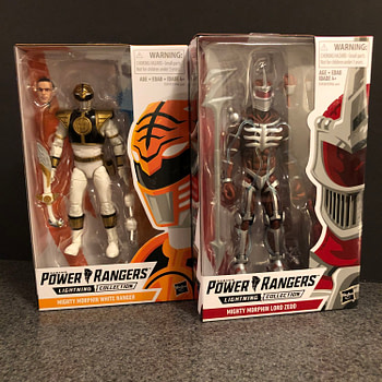 Power Rangers Lightning Collection White Ranger and Lord Zedd are Great Figures