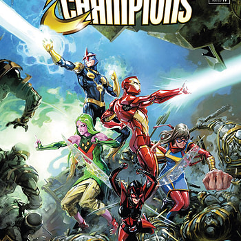 Infinity Countdown: Champions #1 cover by Clayton Crain