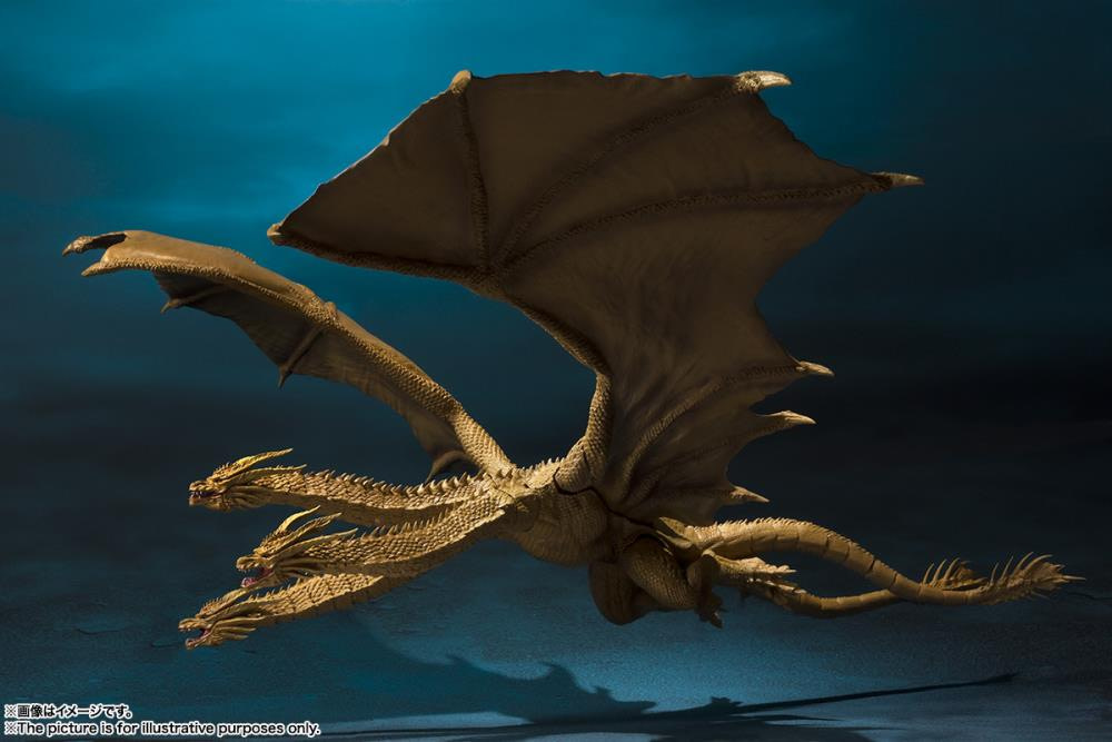 SH MonsterArts Godzilla King Ghidorah 4