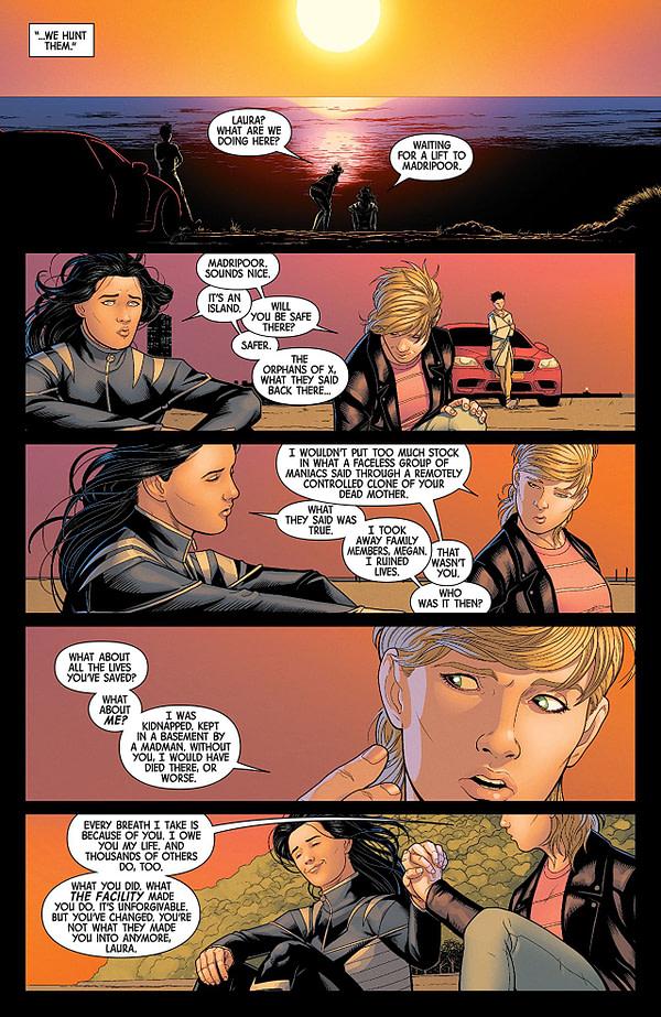 All-New Wolverine #28 art by Juann Cabal and Nolan Woodard