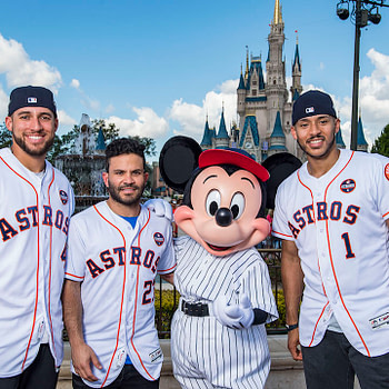 Houston Astros World Series Celebration at Walt Disney World