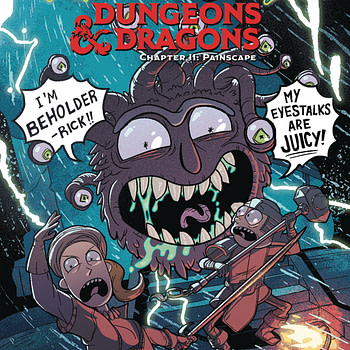 Rick And Morty's Flesh Curtains Get Their Own Origin Comic in September