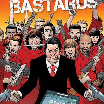 Jimmy's Bastards #8 cover by Andy Clarke and Jose Villarrubia