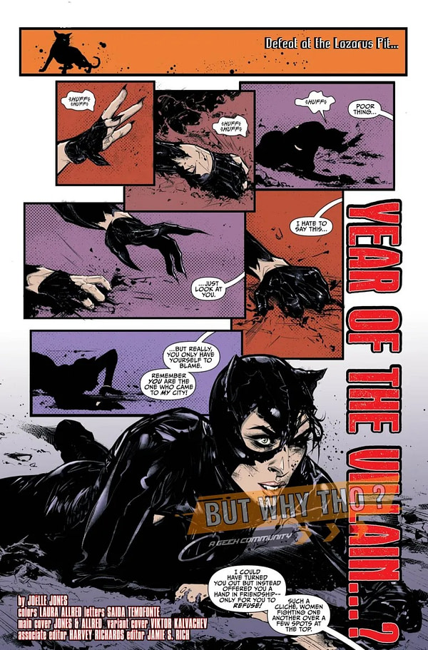 Catwoman #16 [Preview]