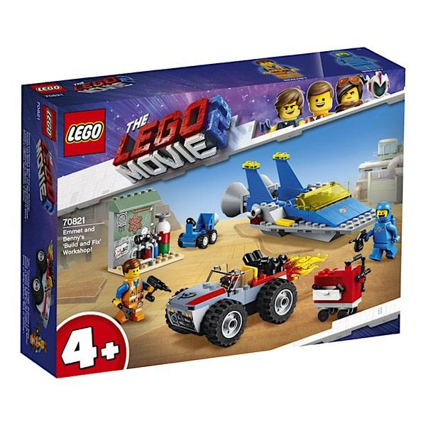 LEGO Movie 2 Emmet and Benny Workshop 1