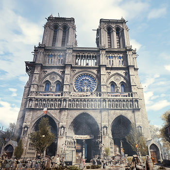 How 'Assassin's Creed: Unity' Could Help Rebuild Notre Dame Cathedral