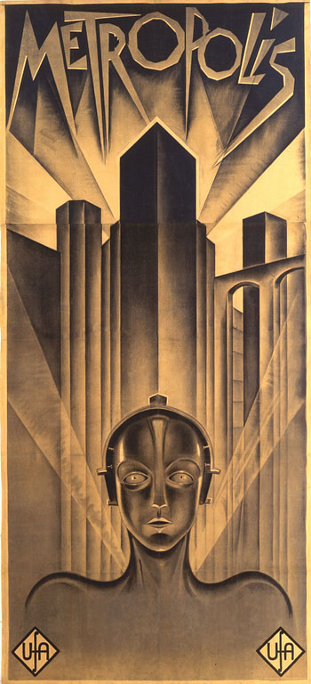 Metropolis    Poster Greatest Movies Classic /& Vintage Films