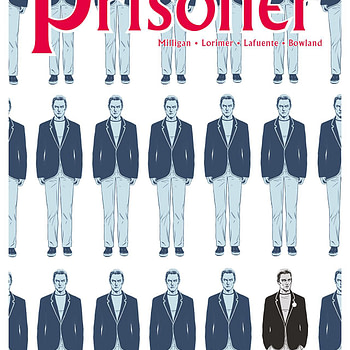 Prisoner #3 cover by Colin Lorimer and Joana LaFuente