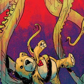 Babyteeth #9 cover by Garry Brown and Mike Englert