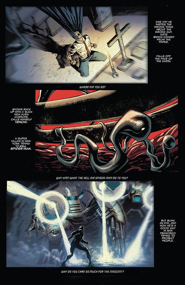 Venom #2 art by Ryan Stegman, JP Mayer, and Frank Martin