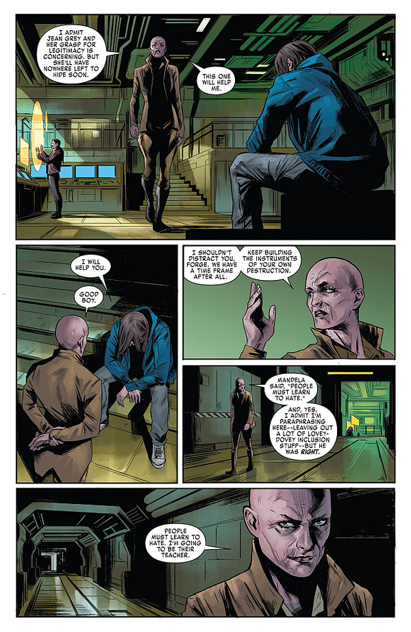 X-Men: Red #6 art by Carmen Carnero and Rain Beredo