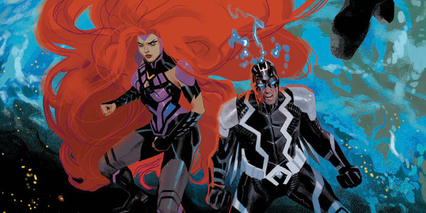 Inhumans: Judgement Day #1 cover by Daniel Acuna
