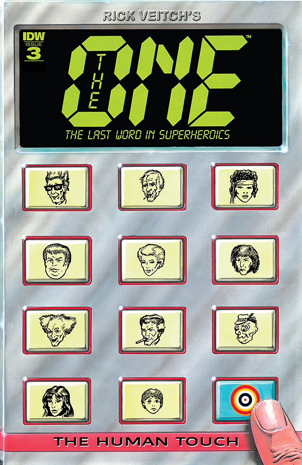 The One #3 cover by Rick Veitch