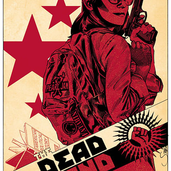 The Dead Hand #4 cover by Stephen Mooney and Jordie Bellaire