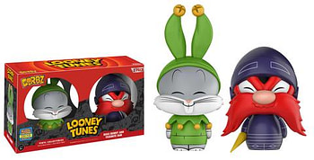 Dorbz Jester Bugs Bunny and Knight Yosemite Sam Two- Pack Funko SDCC