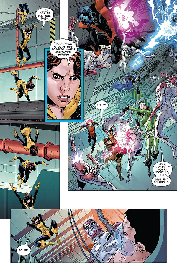 X-Men: Gold #29 art by Geraldo Borges and Arif Prianto
