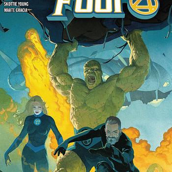 Fantastic Four #1 cover by Esad Ribic
