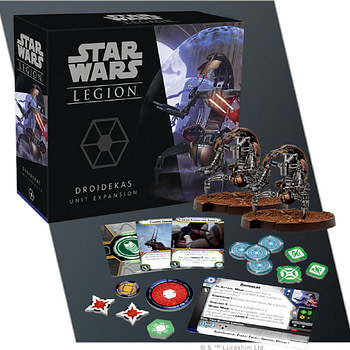 """Star Wars: Legion"" Rolls Out New Droidekas Troops"