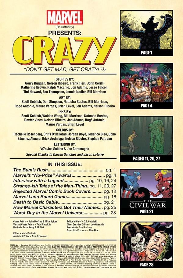 Crazy #1 [Preview]