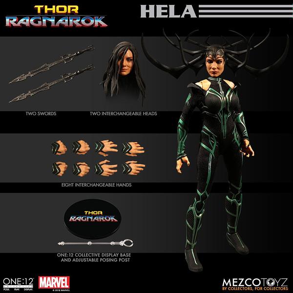 One 12 Collective Thor Ragnarok Hela 7