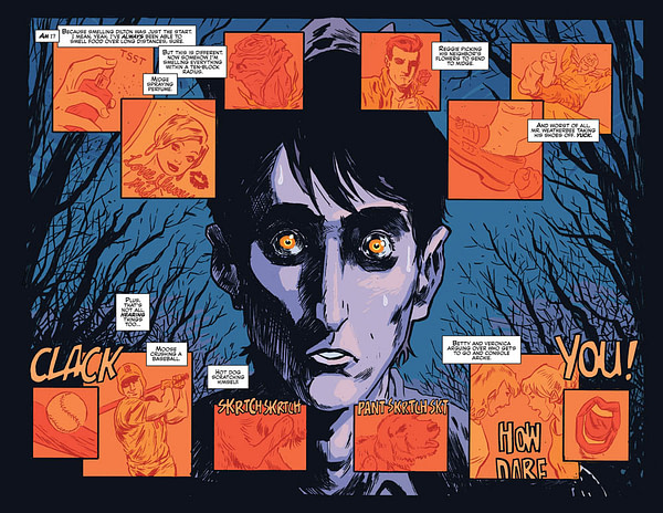 Jughead - The Hunger - Cover A - No Masthead - Michael Walsh - Pages 14-15