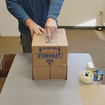 How to Recycle & Reuse Diamond's Shipping Boxes