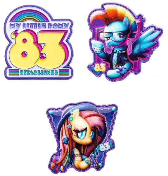 My Little Pony Enamel Pins SDCC