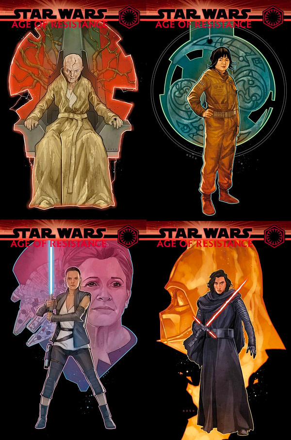 Rey, Snoke, Kylo Ren and Rose Tico All Get Their Own Star Wars Solo Comics