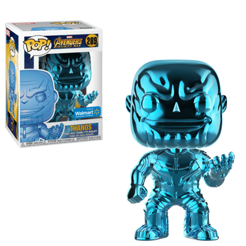 Funko Chrome Thanos Blue