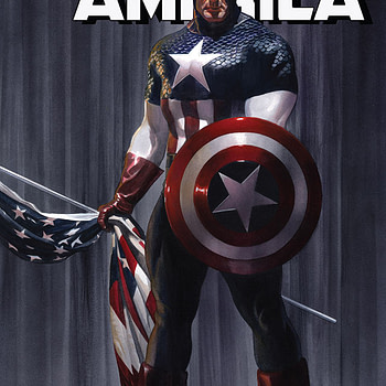 Captain America #2 cover by Alex Ross