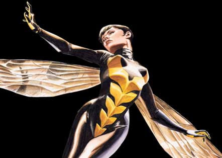 Wasp image by artist J.G. Jones