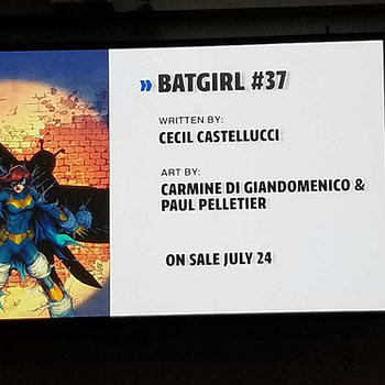First Look at the New Oracle from Batgirl #37