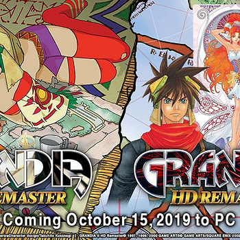 """Grandia HD Remaster"" Gets An October Release Date"
