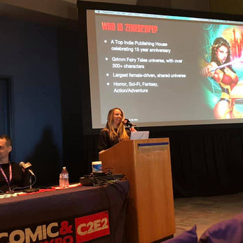 Zenesceope's Panel at C2E2 Provided Insights into the Publisher's Origin Story