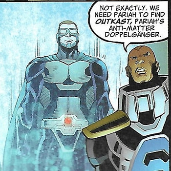 Outkast, the New Villain for Crisis on Infinite Earths in the Arrowverse!  Spoilers for Crisis on Infinite Earths Giant #1